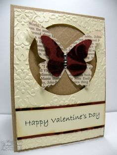 Great colors and I love the use of any type of newsprint or old book paper. So classic and cute.