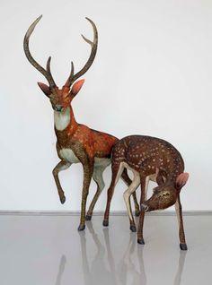 Bharti Kher, 2002 Courtesy Galerie Perrotin