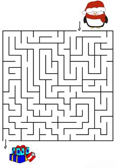 Also see the category to find . Read more Easy Maze Christmas Game. Also see the category to find . Christmas Maze, Fun Christmas Games, Simple Christmas, Kids Christmas, Christmas Crafts, Christmas Worksheets, Free Christmas Printables, Free Printable Puzzles, Mazes For Kids