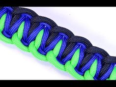 Another Outstanding Paracord Bracelet Brought to You by BoredParacord - YouTube