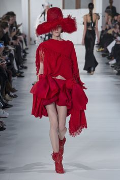 Maison Margiela | Haute Couture - Spring 2017 | Look 18, Model: Kasia Jujeczka