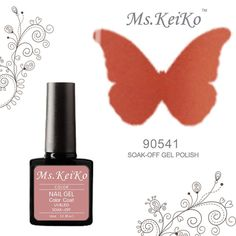 G-Beauty : MSKEIKO new color Soak-off UV Led Gel Polish SHELLAC Nail Art 10ml 90541 Clay Canyon *** To view further for this item, visit the image link.