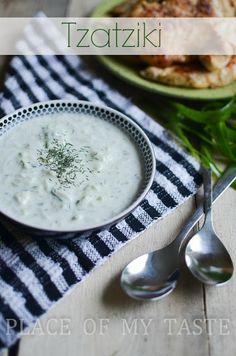 Tzatziki Dip Recipe @placeofmytaste.com Opa!