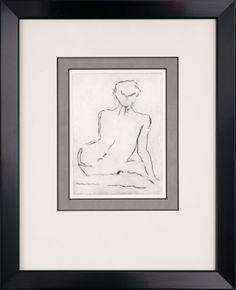 Tate's sophisticated profiles are the perfect complement to beautiful sketches.  Tate 374650