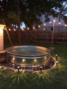 Stock Pools, Stock Tank Pool, Diy Pool, Small Pools, Backyard Landscaping, Landscaping Ideas, Backyard Projects, Cool Pools, The Ranch