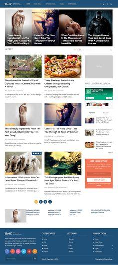 WordX WordPress Blogs & #Magazine Theme - www.wpchats.com