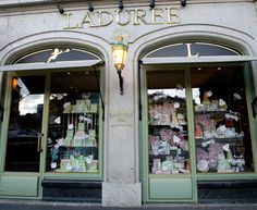 La Durée - I love their macarons, but here is a warning: service is very unfriendly!