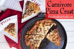 Carnivore Pizza Crust - Maria Mind Body Health Diet Pizza, Low Carb Pizza, Pizza Recipes, My Recipes, Low Carb Recipes, How To Make Pizza, How To Eat Paleo, Protein Sparing Modified Fast, Fat Head Pizza Crust