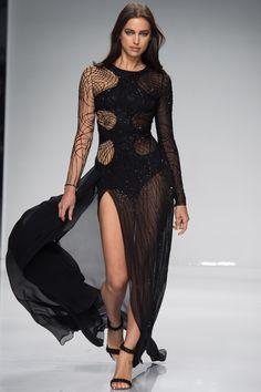 Atelier Versace Spring 2016 Couture Fashion Show - Irina Shayk (OUI)