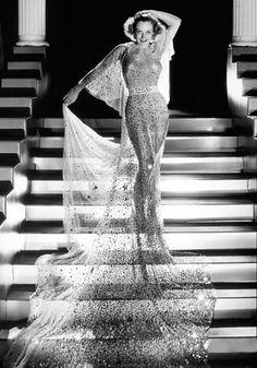 Joan Crawford Film Set/MGM Dancing Lady (1933) -- photo by George Hurrell