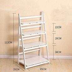 Ladder Shelf Diy, Wood Ladder, Plant Ladder, Wooden Plant Stands, Diy Plant Stand, Built In Bookcase, Ladder Bookcase, House Plants Decor, Plant Decor