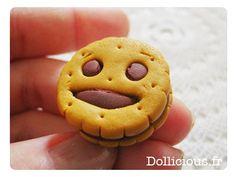bn biscuit fimo....c'est l'heure du goûter!!