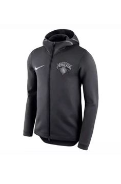 9b2e3832e058 Details about Nike NBA New York Knicks Therma Flex Showtime Bench Hoodie  Small S AA1685 014