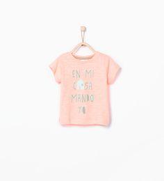 ZARA - KINDEREN - Shirt met Spaanse tekst