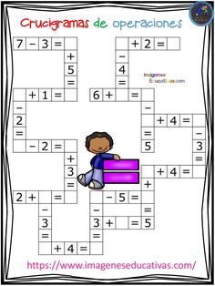 Descargar Archivo: Relacionado Mental Maths Worksheets, Kindergarten Math Worksheets, Maths Puzzles, Preschool Math, Learning Activities, Math Math, Math Exercises, Math Tutor, Basic Math