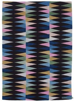 Black,Multicolor New Contemporary Handwoven Wool Rug x cm x 250 cm) - Old Yarn Recycled Yarn, Contemporary Area Rugs, Custom Rugs, Weaving Techniques, Turkish Kilim Rugs, Wool Rug, Vintage Rugs, Hand Weaving, Kilims