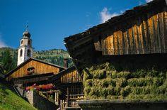 Go to the prosciutto festival in Sauris, Italy.