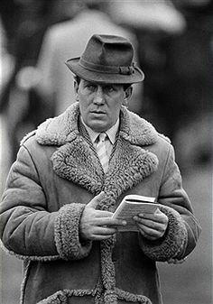 David Nicholson, National Hunt trainer, at the National Hunt Festival held in Cheltenham on 15th March 1983. (Bob Thomas/Getty Images).