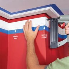 How to Install Crown Molding: Three-Piece Design - Step by Step | The Family Handyman