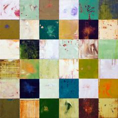 """James Wyper  Everything Is Breathing    -   48"""" x 48""""    -     2010"""