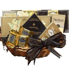 Art of Appreciation Gift Baskets With Heartfelt Sympathy - Medium : Gourmet Snacks And Hors Doeuvres Gifts : Grocery & Gourmet Food Gourmet Food Gifts, Gourmet Desserts, Gourmet Recipes, Gourmet Cheese, Gourmet Popcorn, Sympathy Gift Baskets, Sympathy Gifts, Food Gift Baskets, Pop Corn