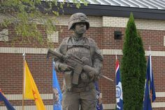 A New Monument Recognizes Military Women's Service and Sacrifices
