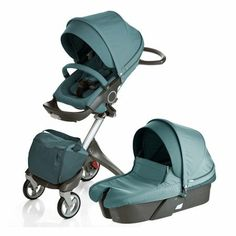 It's hard to find a more unique stroller than the Stokke Explory.