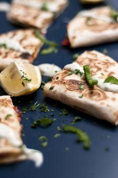 Ensinamos a receita de Quesadilla de Pimentão, muito diferente e deliciosa, além de ser fácil de fazer!