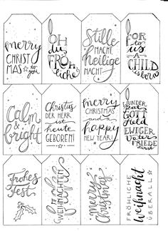 Christmas gift tags printable – Her gifts Homemade Christmas Gifts, Christmas Gift Tags, Xmas Cards, Christmas Holidays, Christmas Crafts, Christmas Wrapping, Holiday Gifts, Diy Crafts To Do, Fete Halloween
