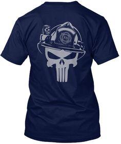 Fd Navy T-Shirt Back