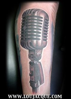 microphone tattoo - Pesquisa Google