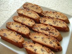 Biscotti Recipes (maybe try the orange flavored or the coffee flavored)