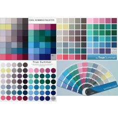 """""""cool/true summer palettes"""" by soliferi-1 on Polyvore"""
