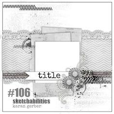 sketchabilities: Sketch #106-designed by Karan Gerber