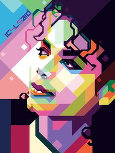Create WPAP Style Art in Adobe Illustrator #wpapart #portraits #digitalart…