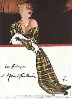 Marcel Guiilemin 1952 ~ René Gruau