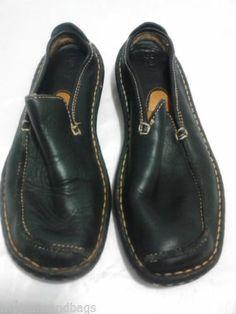 Born Women's Shoes 8M Black Mules