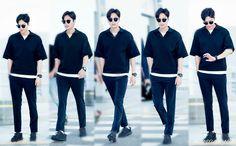 Lee Min Ho es en su camino a kcon LA!