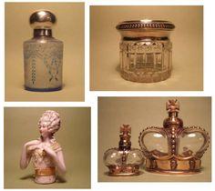 frascos antiguos de perfumes - Buscar con Google