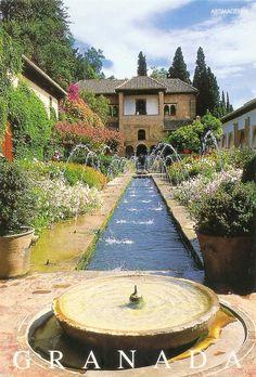 My UNESCO World Heritage Postcards: Spain - Alhambra, Generalife and Albayzín, Granada