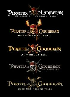 More pirates!!   all the different name styles!