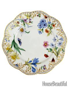 Michael C. Fina Dinnerware - Pretty Floral China