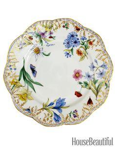 Michael C. Fina Dinnerware - Pretty Floral China