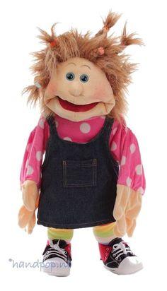 Living Puppets handpop Ilselotte - Handpoppen.nl
