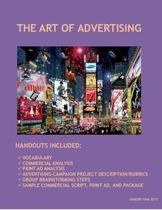 Students will love this two-week unit that taps into their background knowledge and provides them with a new understanding of familiar commercials, jingles, and slogans. A 60-slide Powerpoint presentation includes:Overview of advertising jargon and most common persuasive strategies Many relevant examples of commercials, print ads, and packagingFun and engaging activities throughout for reinforcement and formative assessmentA balance of individual, whole class, small group, and pair…