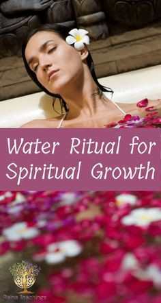 This water ritual is so easy to help you grow spiritually! You can do it with your next shower or bath - simple. Spiritual Enlightenment, Spiritual Growth, Spirituality, Yin Energy, Chakra Cleanse, Spiritual Connection, Learning To Love Yourself, Spiritual Teachers, Spiritual Awareness