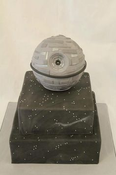 Wedding Cake by Cakes by Shanthi - W.A. Without the death star and possible ships involved would be nice.