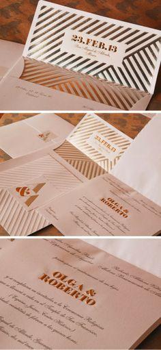 Olga Aguilar: Our Work: My Own Wedding Invitations