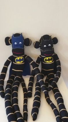 Batman sock monkey's