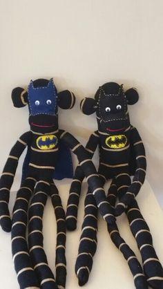 Batman sock monkey's